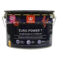 Краска Tikkurila Euro Power 7 (база А) 9 л